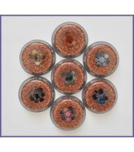 Orgone chakra balancers (OCB) set of 7
