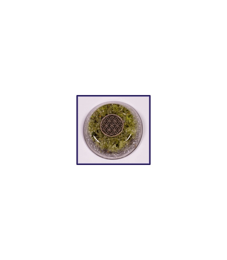 EMF- 5G Orgonite (ORgone) Protection Flower of Life
