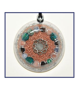 Radiation Deflector Orgone Pendant