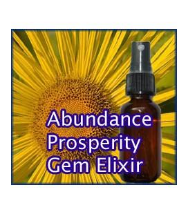 Abundance and Prosperity Gem Elixir