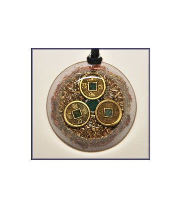 Abundance and Prosperity Orgone Pendant