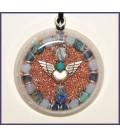Angel Amulet Orgone Pendant