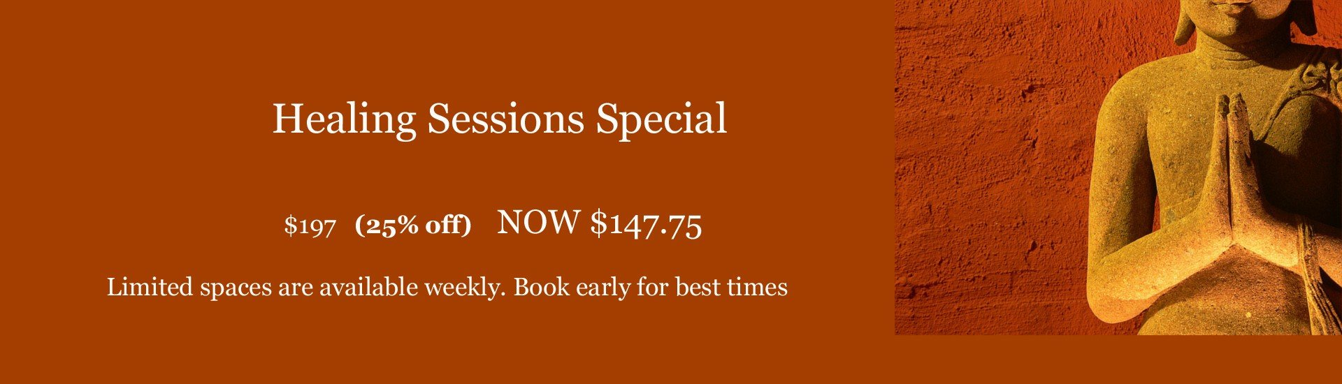 Healing Sessions Special